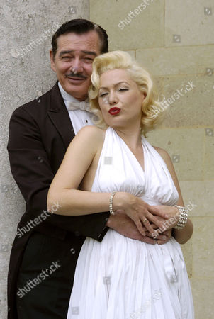 Lookalikes of Clark Gable and Marilyn Monroe - Gene Daily and Pauline Bailey