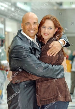 Stock Photo of David Palffy and Suanne Braun
