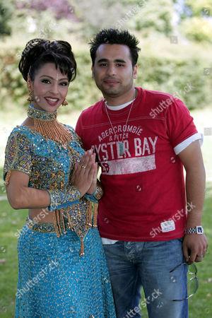 Honey Kalaria and Ameet Chana