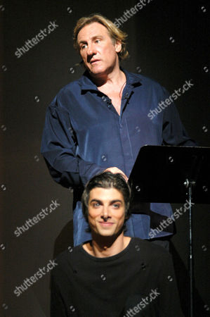 Editorial photo of REHEARSALS FOR THE PLAY ' HARY JANOS ' AT THE THEATRE DU CHATELET, PARIS, FRANCE - 09 JUN 2004