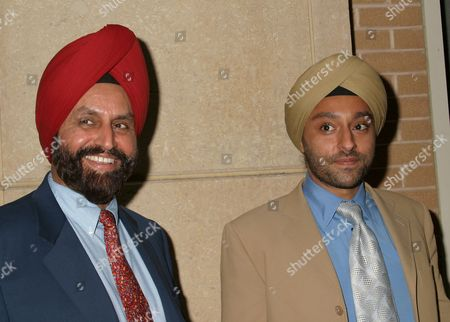 Vikram Chatwal withhis father