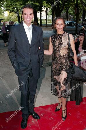 Stock Image of XAVIER SAMSON AND CHRISTINE BOISSON