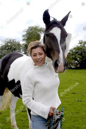 Suzanne Dando and horse
