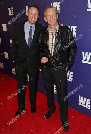 Chris Harrison and Bob Eubanks