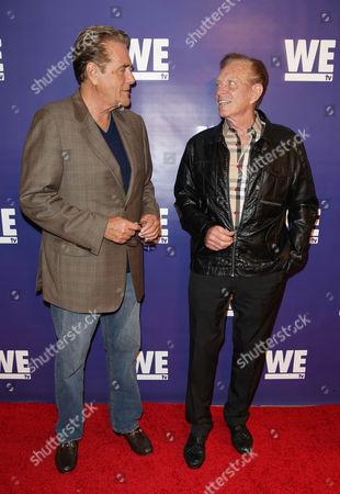 Chuck Woolery and Bob Eubanks