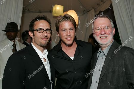 Producer Rick Alvarez, Lochlyn Munro, Producer Lee R. Mayes