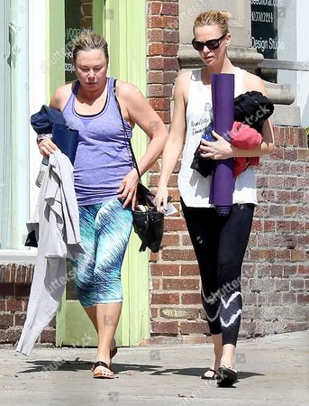 Editorial image of Charlize Theron out and about, Los Angeles, America - 20 Mar 2015