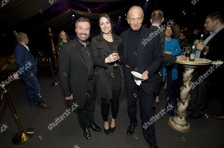 Ian Beattie, Charles Dance and Daughter