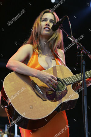 American singer-songwriter Heather Nova performing live at the Outside Festival in Dielsdorf, Zurich, Switzerland, Europe
