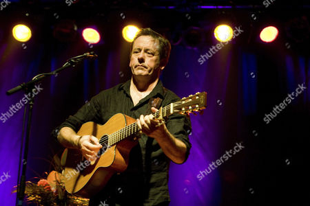 Kevin Barry Moore aka Luka Bloom, Irish singer and songwriter, performing live in the Schueuer concert house, Lucerne, Switzerland, Europe