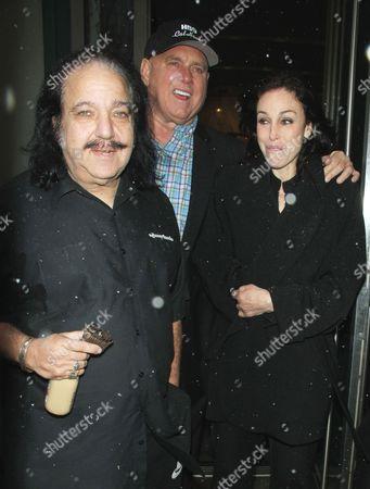 Ron Jeremy, Dennis Hof and Heidi Fleiss