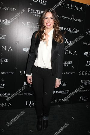 Editorial picture of Cinema Society 'Serena' film screening, New York, America - 21 Mar 2015