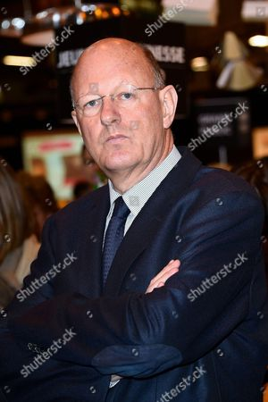 Stock Picture of President of the French public media group France Television Remy Pflimlin