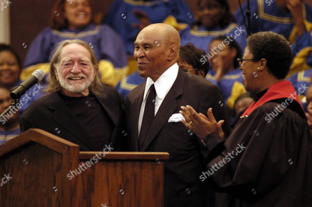 Editorial photo of FUNERAL OF RAY CHARLES, FIRST AFRICAN METHODIST EPISCOPAL CHURCH, LOS ANGELES, AMERICA - 18 JUN 2004