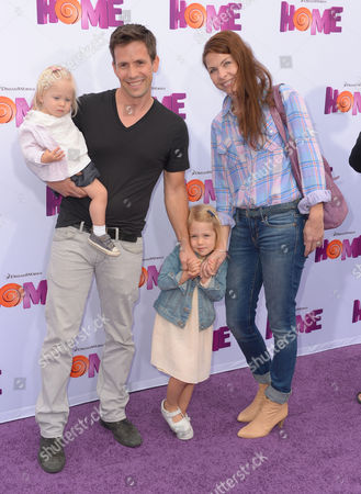 Christian Oliver and family