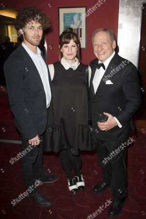 Ben Ockrent, Jemima Rooper and Mel Brooks