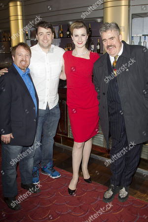Cory English, Jason Manford, Tiffany Graves and Phill Jupitus