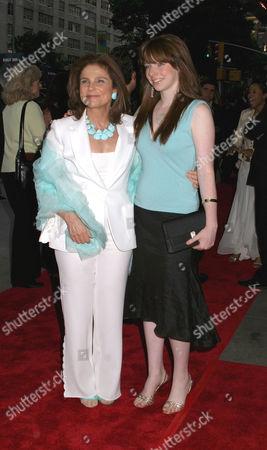 Stock Image of Tovah Feldshuh and daughter Amanda Levy