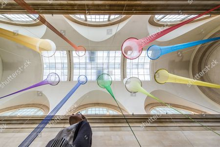 Editorial image of 'The Filters' installation by Christina Mackie at the Tate Britain, London, Britain - 23 Mar 2015