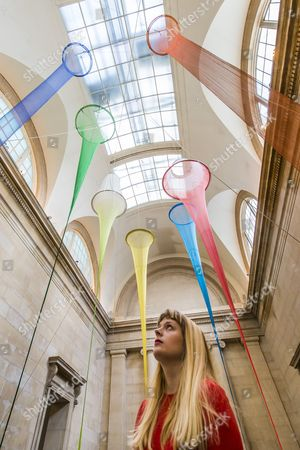 Editorial photo of 'The Filters' installation by Christina Mackie at the Tate Britain, London, Britain - 23 Mar 2015