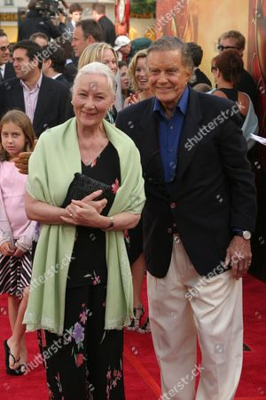 Rosemary Harris and Cliff Robertson