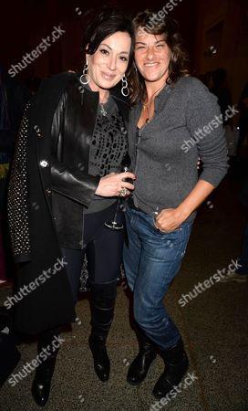 Nancy Dell'Olio and Tracey Emin