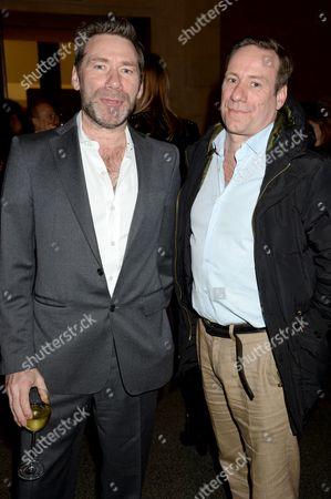 Mat Collishaw with Stephan Collishaw