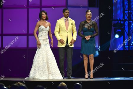 Wendy Raquel Robinson, Fonzworth Bentley and Vivica A. Fox