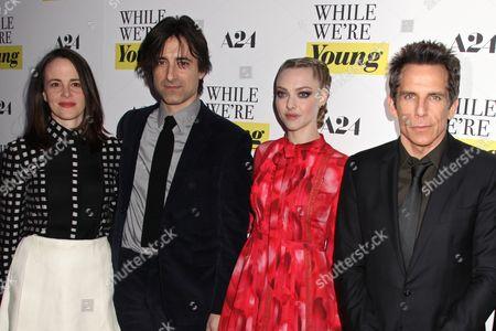 Maria Dizzia, Noah Baumbach, Amanda Seyfried and Ben Stiller