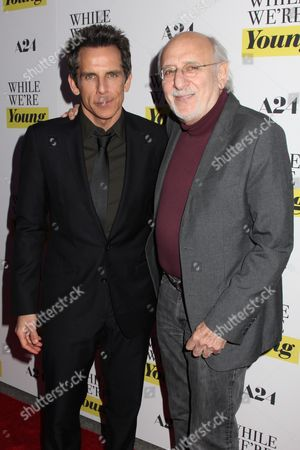 Stock Photo of Ben Stiller and Peter Yarrow (Peter, Paul & Mary)