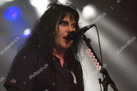 Blackie Lawless, singer and frontman of U.S. metal-rock band W.A.S.P. live in Schueuer, Lucerne, Switzerland