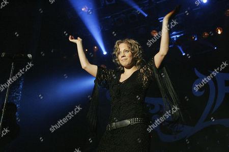LaFee, German pop singer, live at Club X-tra in Zurich, Switzerland