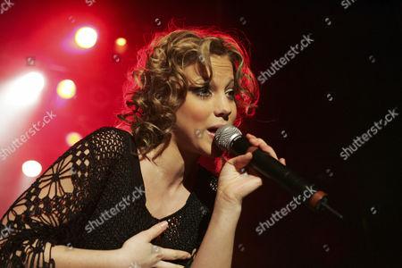 Stock Image of LaFee, German pop singer, live at Club X-tra in Zurich, Switzerland