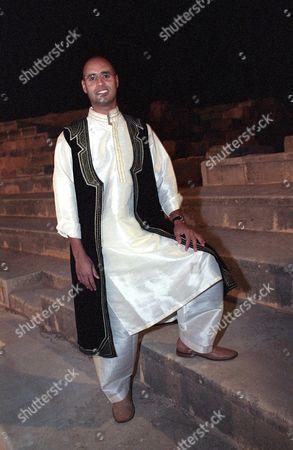 SAIF AL ISLAM MUAMMAR QADDAFI, TRIPOLI - NOV 2002