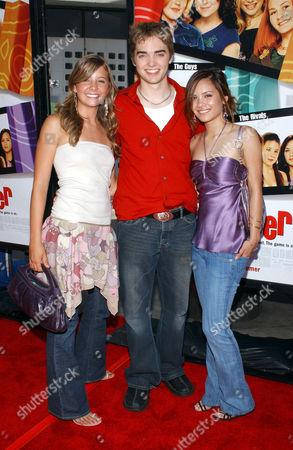 Katija Pevec, Drew Tyler Bell and Eileen Boylan