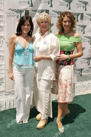 TRICIA LEIGH FISHER, CONNIE STEVENS AND JOELY FISHER