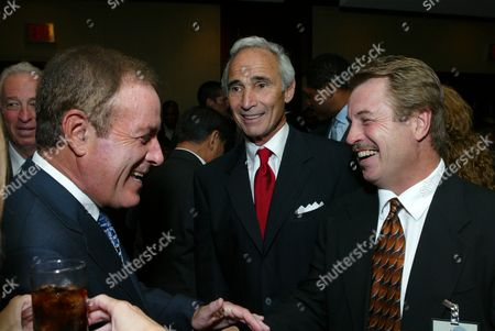 Honoree Al Michaels, Sandy Koufax and Ron Cey