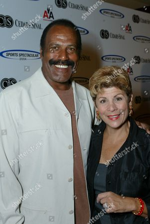 Stock Image of Fred Williamson and wife