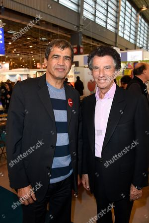 Daniel Picouly and Jack Lang