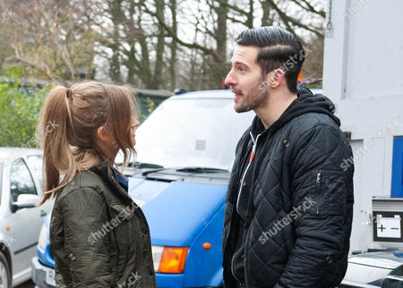 Emmerdale - Ep 7102 Tuesday 10th February 2015 Debbie Dingle [CHARLEY WEBB] finds a conflicted Ross Barton [MICHAEL PARR] in the garage, having slept there. As Debbie suggests Ross gives Emma another chance, will Finn be as forgiving and will James stick up for his estranged wife or will he be glad to see the back of her?