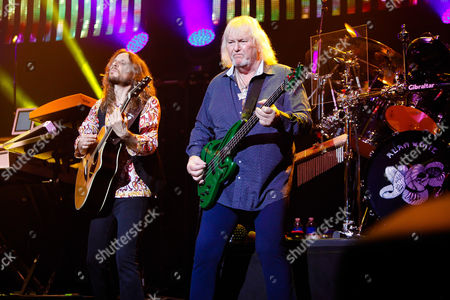 Stock Picture of Yes - Jon Davison and Chris Squire