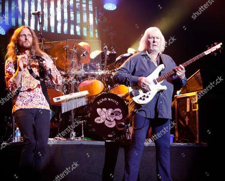 Yes - Jon Davison and Chris Squire