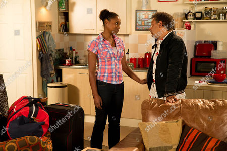 After a pep talk from Sophie, Jenna Kamara [KRISSI BOHN]  announces to Lloyd Mullaney [CRAIG CHARLES] that it's time she did something with her life and she's going to do volunteer work overseas. Lloyd's gutted, will he be able to change her mind?