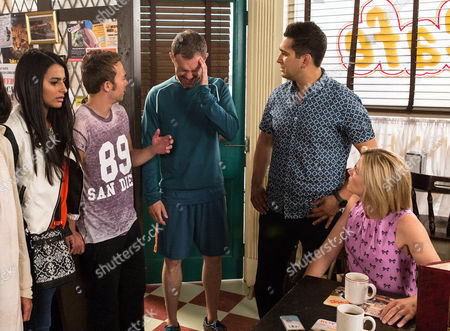 After a run in with Leanne Tilsley [JANE DANSON], Nick Tilsley [BEN PRICE]  is on edge and takes his frustration out on Steph in the bistro. Fed up, Steph warns him that if he continues he'll have to find a new waitress. Rocked, Nick admits to Audrey that he's at his wits end with the pressure of the divorce. When he then sees Leanne, Kal Nazir [JIMI MISTRY], David Platt [JACK P SHEPHERD] and Alya Nazir [SAIR KHAN] all laughing together in the cafe he suddenly clutches his   head and cries out in pain. Is Nick having a seizure?