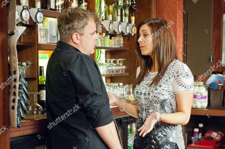 Michelle Connor [KYM MARSH]  assures Steve McDonald [SIMON GREGSON] that he has her blessing and should visit Peter in prison. Dean [JUSTIN MOORHOUSE] (landlord of the Flying Horse) comes into the Rovers and brags to Steve about how good business is in   his pub. When Steve then suggests they could hammer his pub team at cricket, Dean tells him another   team has pulled out of a fixture in a couple of weeks. Dean and Steve shake hands on a match. Steve   then sets about hastily putting a cricket team together.