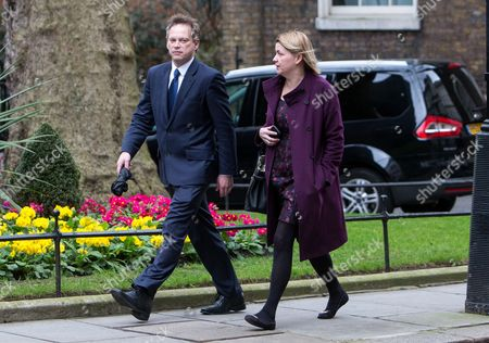 Grant Shapps and Liz Sugg