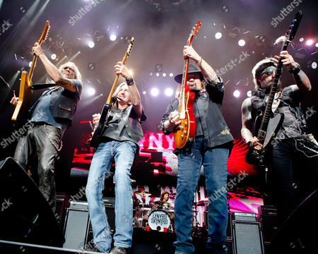 Lynyrd Skynyrd - Rickey Medlocke, Mark Matejka, Gary Rossington and Johnny Colt