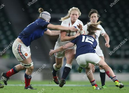 Alexandra Mathews / Eng    and  Manon Andre and Elodie Poublan   / Fra