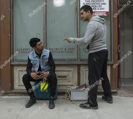 As the work begins on refurbishing the butchers and turning it into the community centre Kal Nazir [JIMI MISTRY] asks Zeedan Nazir [QASIM ATAKHTAR] to go home and help prepare the Eid banquet but Zeedan says there is no way he will cook for Leanne.