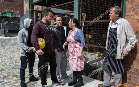 Editorial image of 'Coronation Street' TV Programme. - Oct 2014